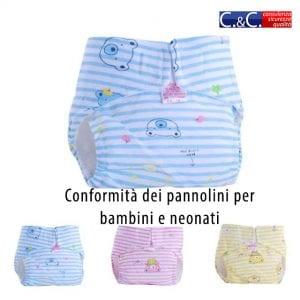 conformità pannolini per neonati e bambini - 2001/95/CE