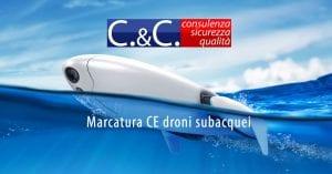 marcatura ce drone subacqueo
