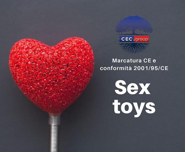 marcatura CE sex toys