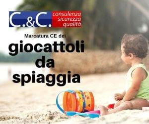 Marcatura CE giocattoli da spiaggia