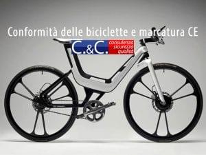 conformità delle biciclette e marcatura CE