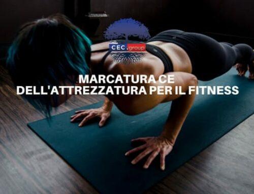 Marcatura CE prodotti fitness