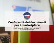 conformità documenti marketplace