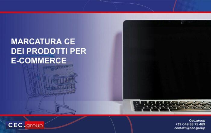 marcatura ce prodotti e-commerce