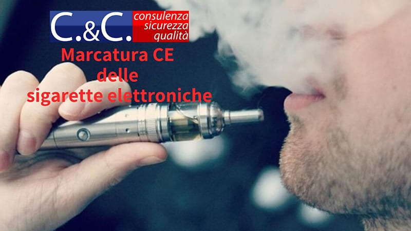 Marcatura CE delle sigarette elettroniche