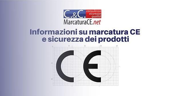 Informazioni sulla marcatura CE