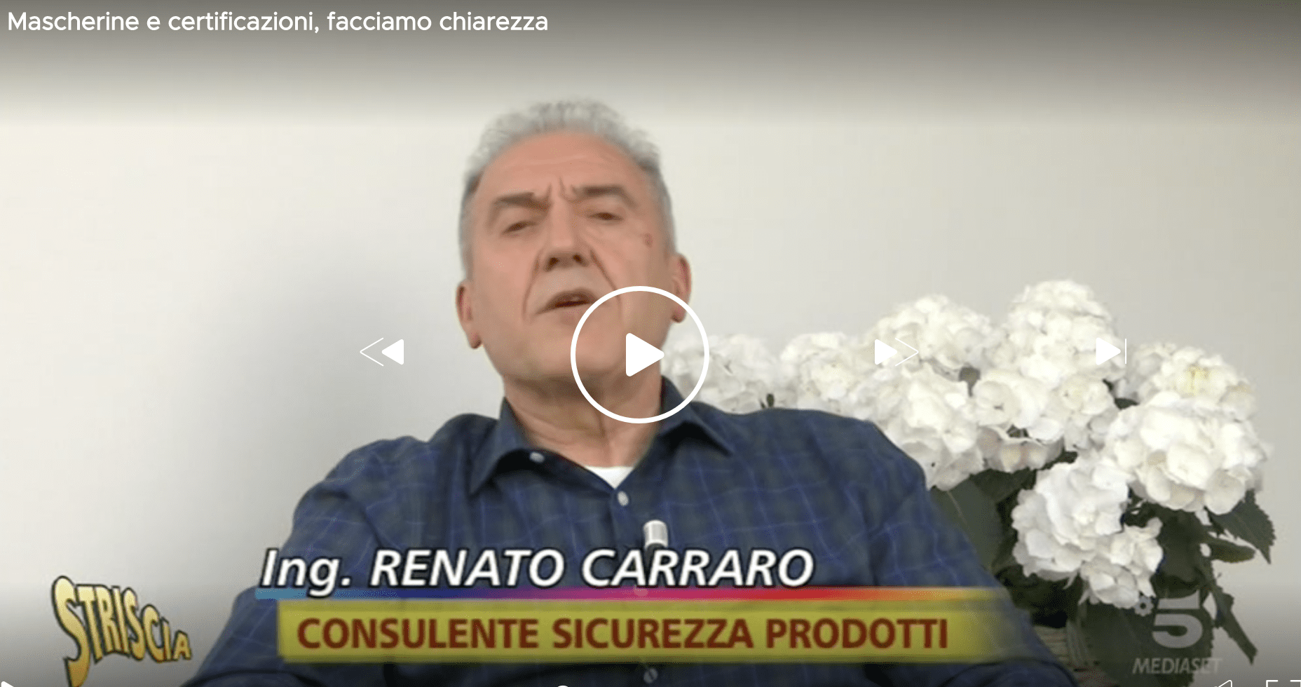 Video ing. Carraro C&C con striscia la notizia