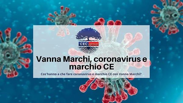 coronavirus e marchio ce