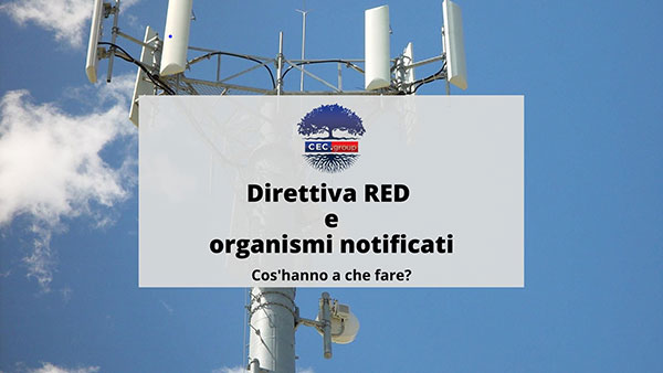 direttiva red e organismi notificati